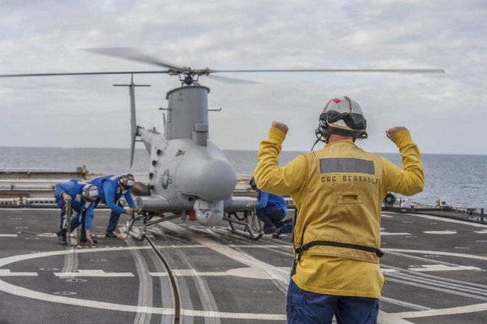 Применение БПЛА в  интересах военно-морских сил за рубежом