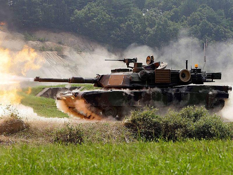 Взаимодействие танка «Абрамс» М1А2 с беспилотными системами