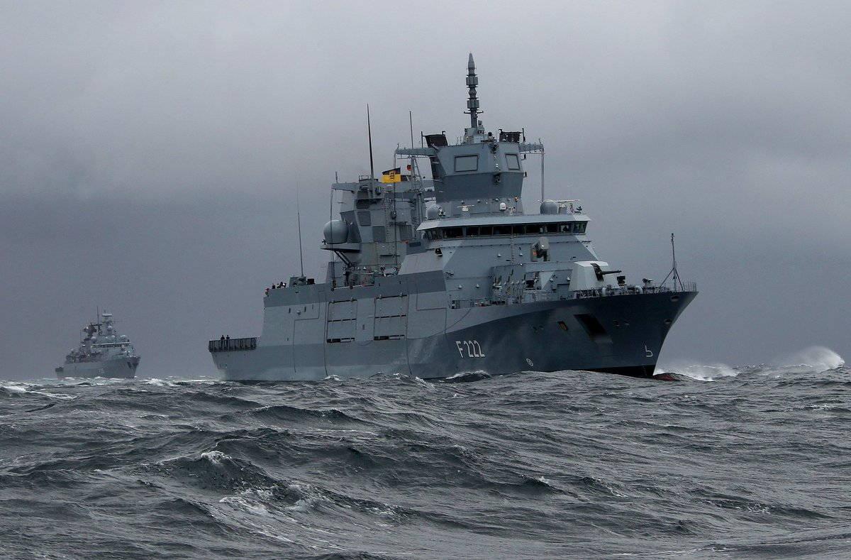 Доклад главного командования ВМС Германии за 2017 год