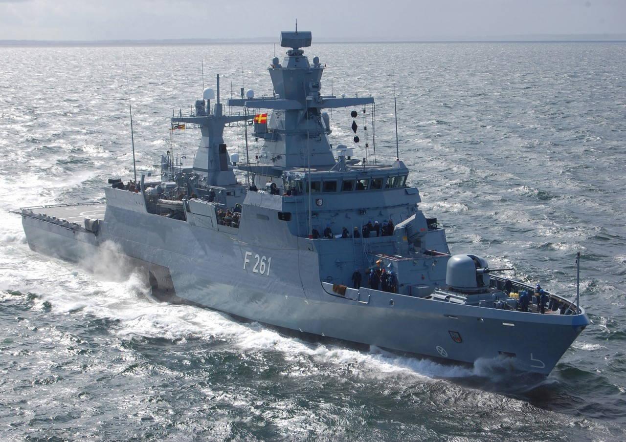 Новые корветы К 130 для ВМС Германии