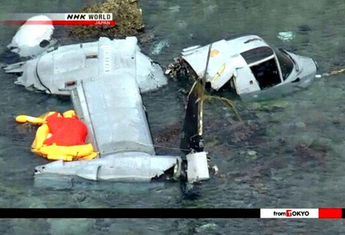 Катастрофа V-22 Osprey у острова Окинава