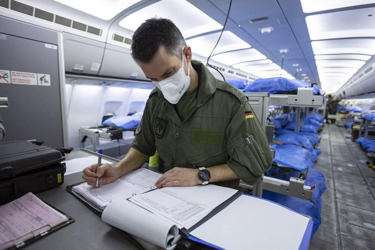 Стратегическая воздушная перевозка раненых силами ВВС Германии