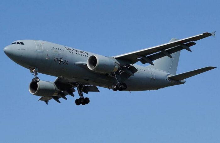 Военно-транспортный самолет Airbus A310 MMRT ВВС Германии