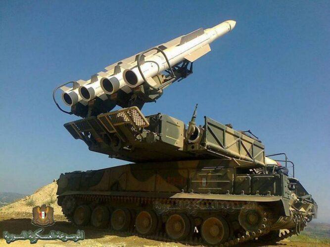 ЗРК «Бук-М2» ПВО Сирии
