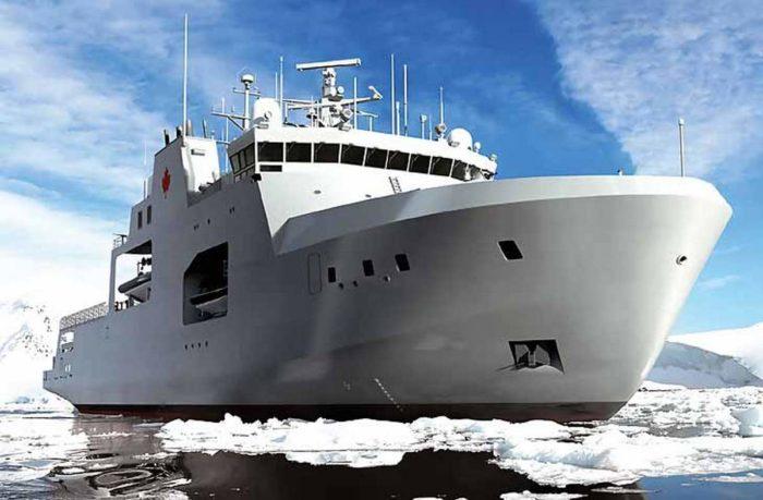 Корабли арктической зоны типа «Гарри Девольф» ВМС Канады