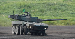 Колесный танк Тип 16