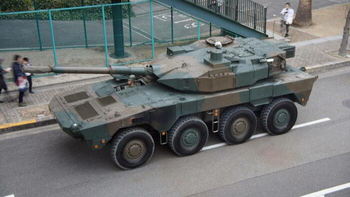 Японский колесный танк «Тип 16» – оценки китайских специалистов