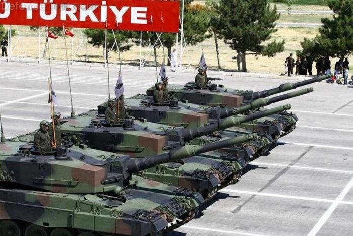 Леопард 2 A4 ВС Турции
