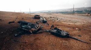 Леопард 2 A4 уничтоженные ВВС Турции