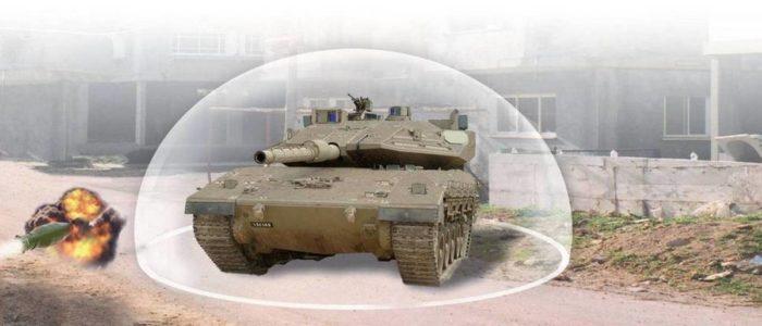 Сферическая защита танка