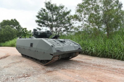 Новая БМП NGAFV ВС Сингапура