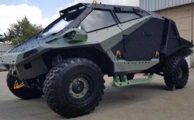 Новая бронированная машина Израиля Мантис
