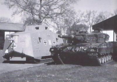 Немецкое танкостроение в двух мировых войнах