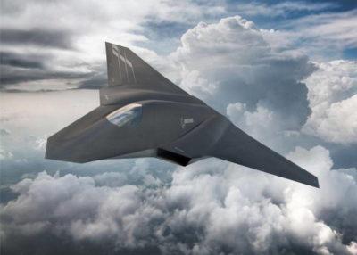 Перспективный самолет поколения Х