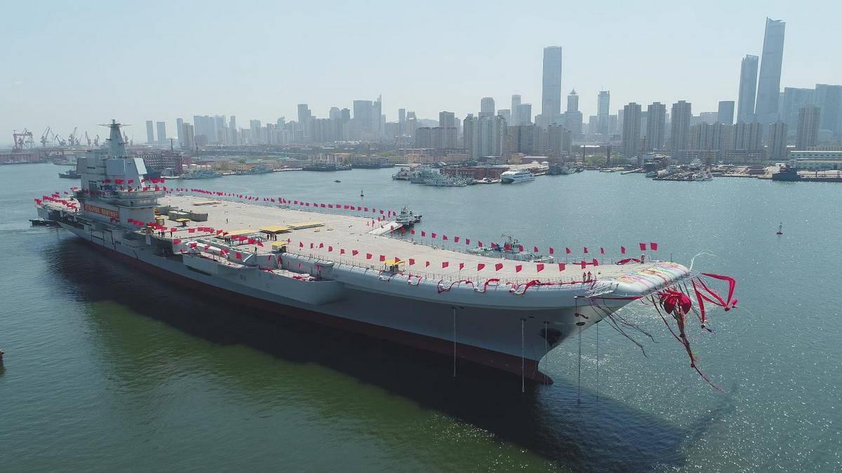 Новый авианосец Китая – строительство началось