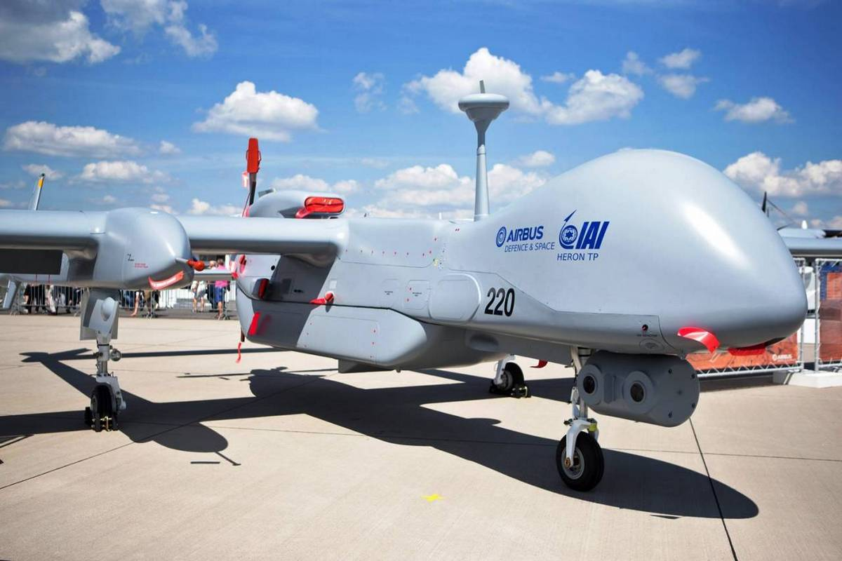 Германия получит израильский беспилотник «Heron TP»