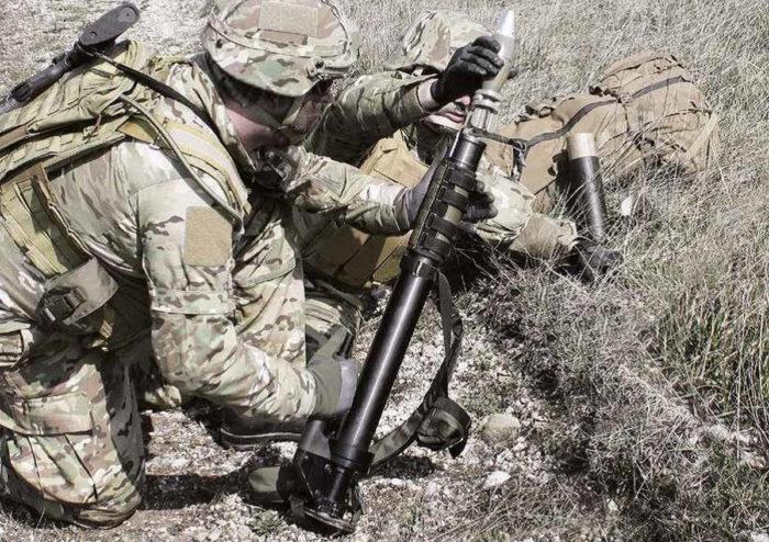 Минометный расчет М6 Commando