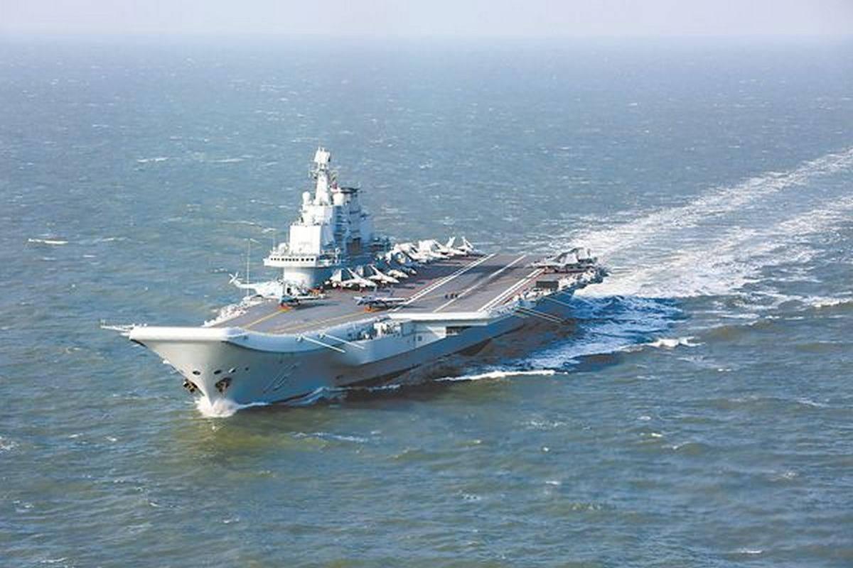 Авианосец «Ляонин» ВМС Китая