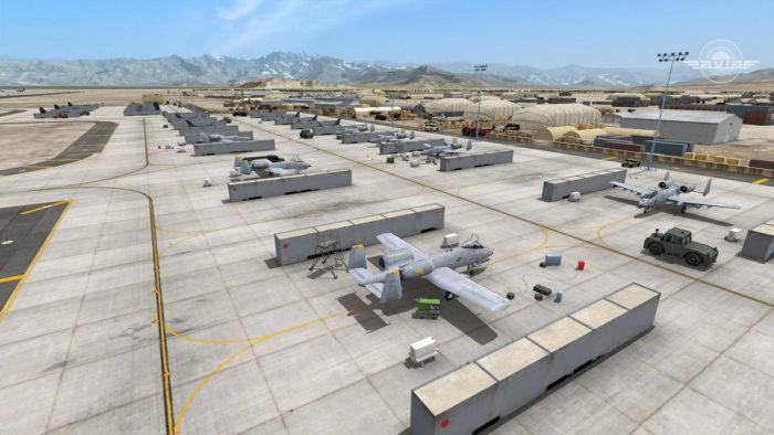 Авиабаза ВВС Германии – оперативное развертывание