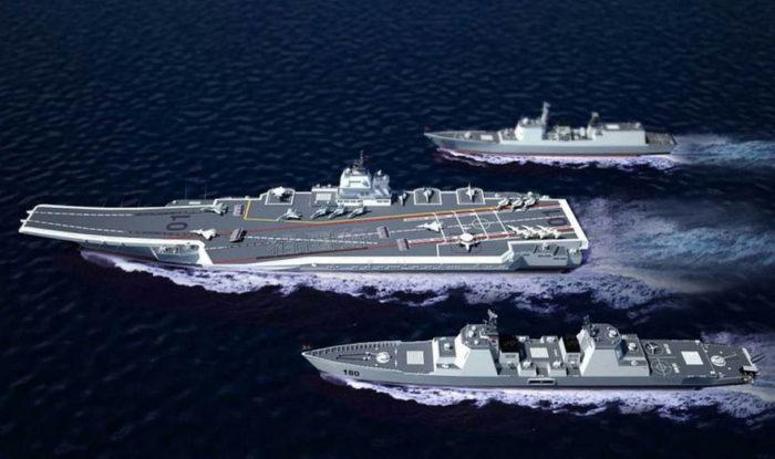 Авианесущие корабли ВМС Китая