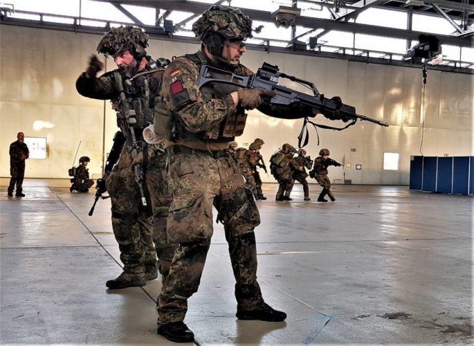 ВС Германии — учебные центры сухопутных войск