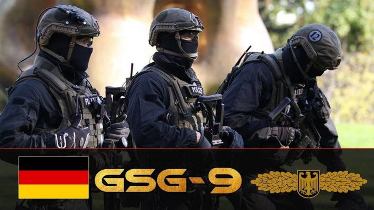 Группа GSG 9 федеральной полиции Германии