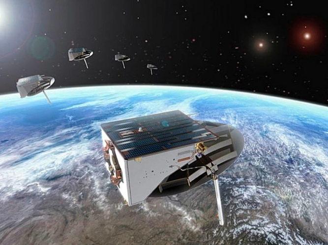 Ведение разведки из космоса