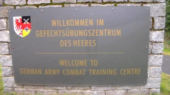 Центр боевой подготовки СВ бундесвера