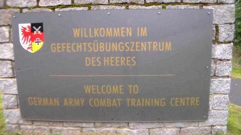 Центр боевой подготовки СВ Германии
