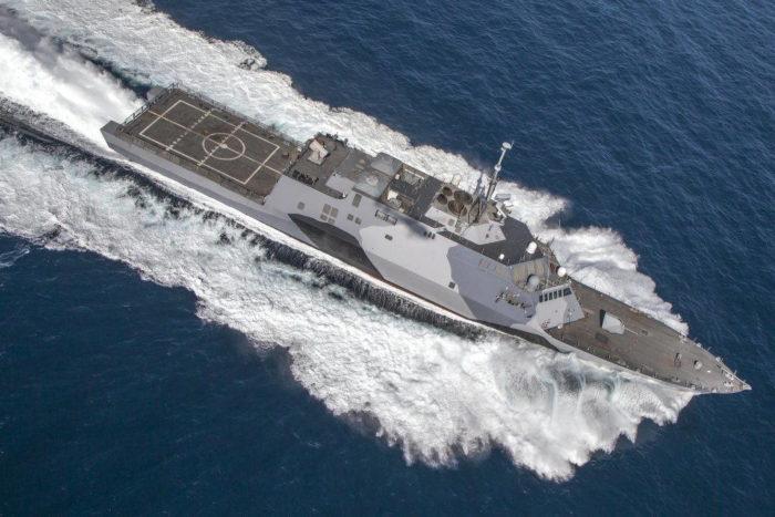 Новый фрегат ВМС США