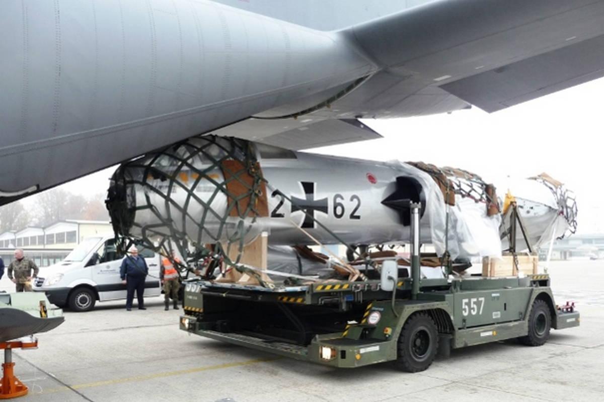 Военно-транспортная авиация в интересах ВС Германии