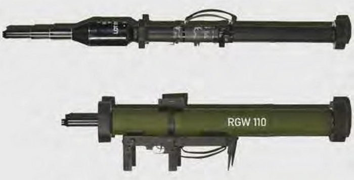 """Сравнение """"Панцерфауст 3"""" и RGW 110"""