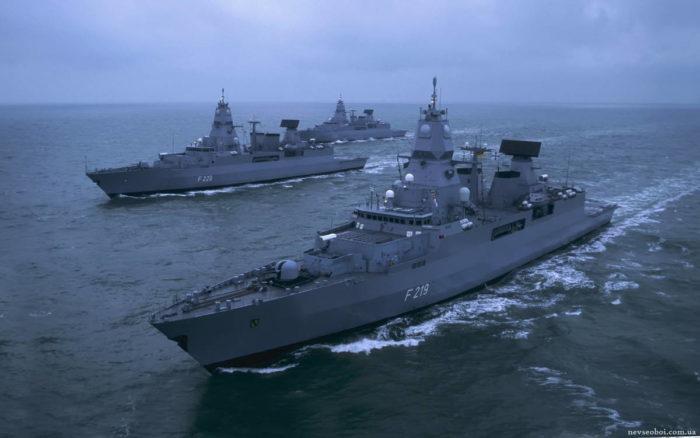 Вооружение фрегата F 124 – состояние и модернизация
