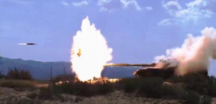 Китайский комплекс активной защиты танка серии GL