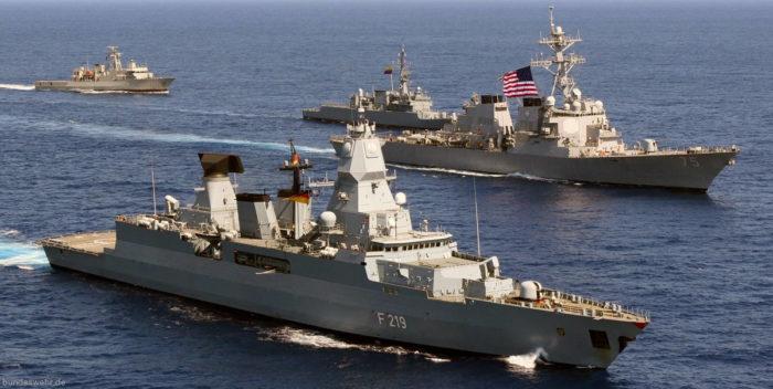 Совместные действия с ВМС США