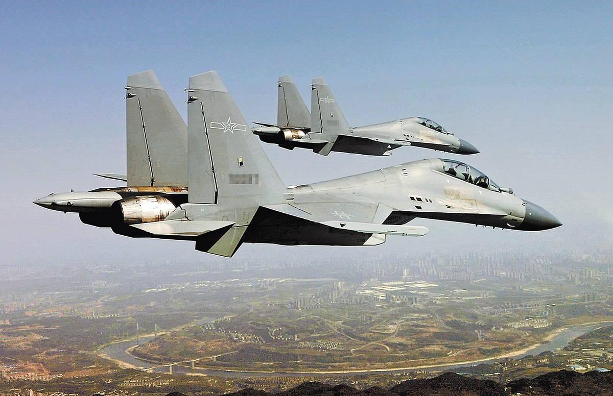 Военная авиация Китая: истребитель-бомбардировщик «Цзянь-16»