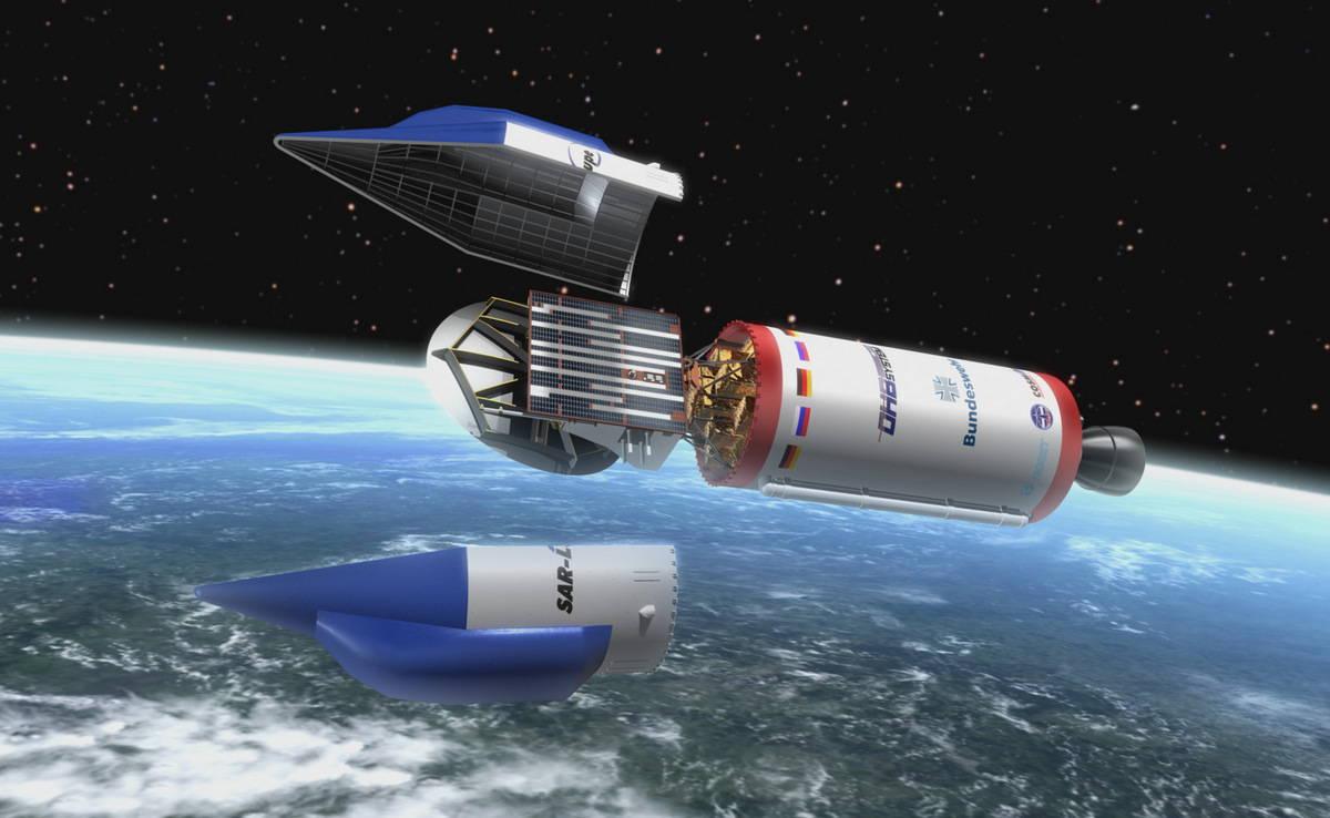 Средства космической разведки ВС Германии