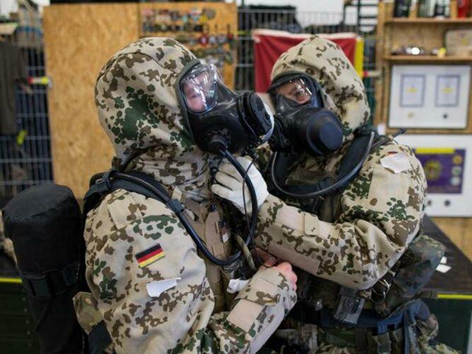 Подготовка KSK для действий на зараженной территории