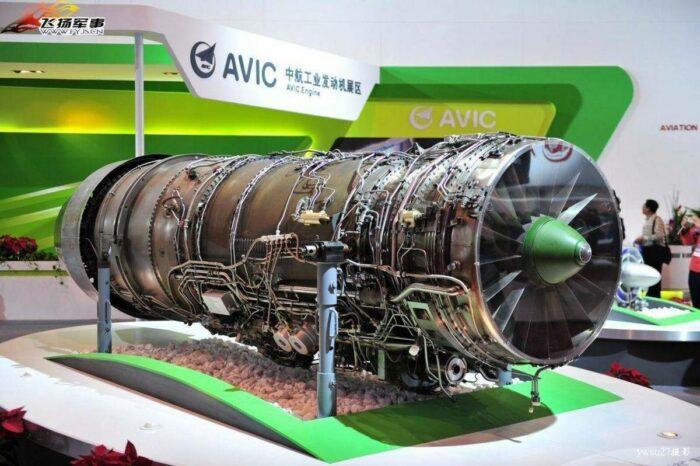 """Двигатель """"Цзянь-16"""" WS-10B"""