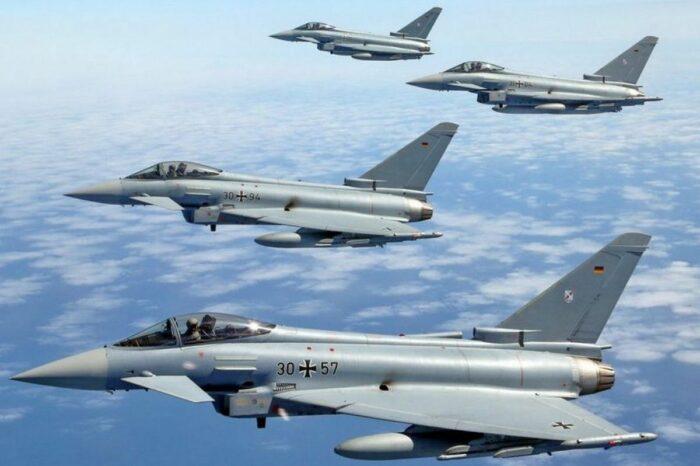Истребитель ВВС Германии «Еврофайтер Тайфун» – общая характеристика.