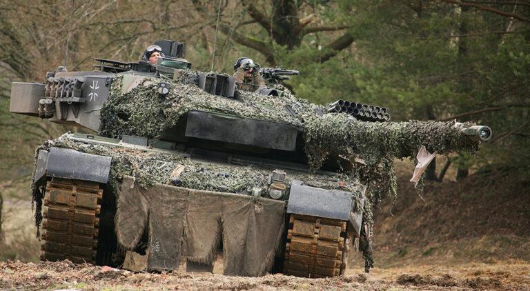 Танк «Леопард 2» – огонь и броня