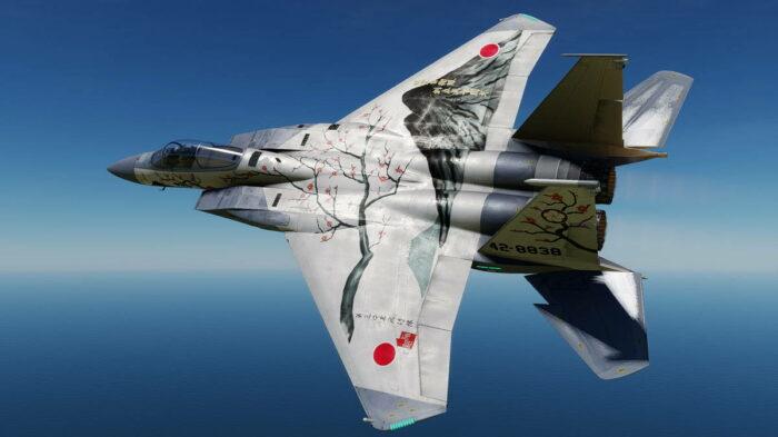 Самолет ССО Японии F-15J