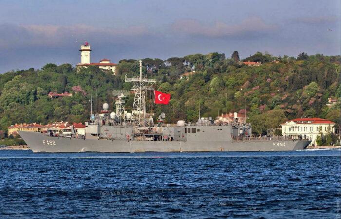Фрегат типа G ВМС Турции F-492 «Gemlik»