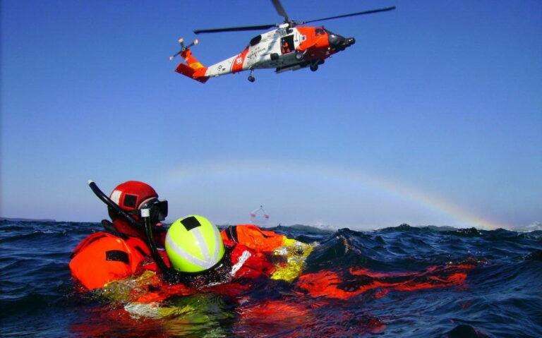 «Выживание на море» – важный элемент подготовки летных экипажей бундесвера