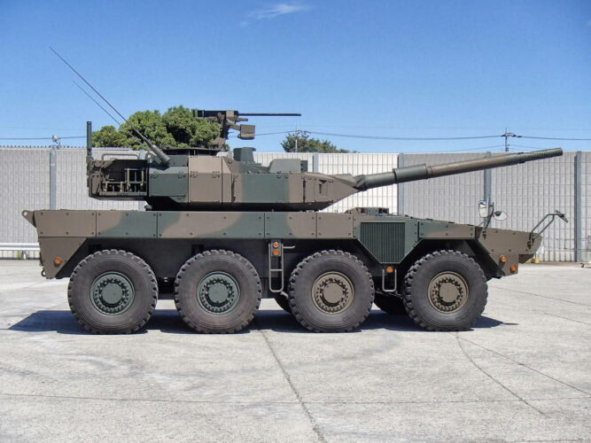 "Колесный танк ""Тип 16"""