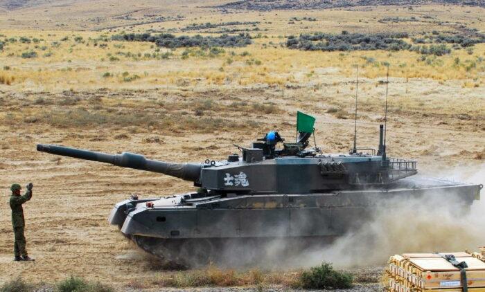 "Японский ОБТ танк ""Тип 90"""