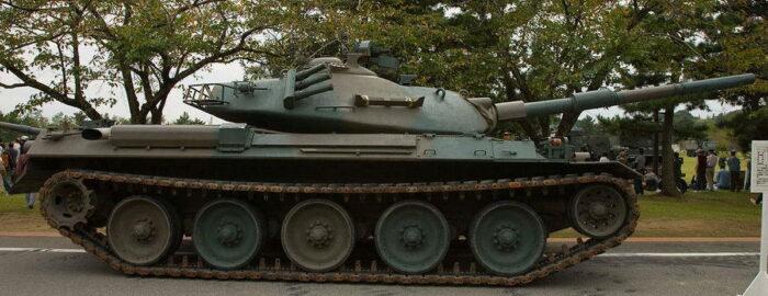 """Японский средний танк """"Тип 74"""""""