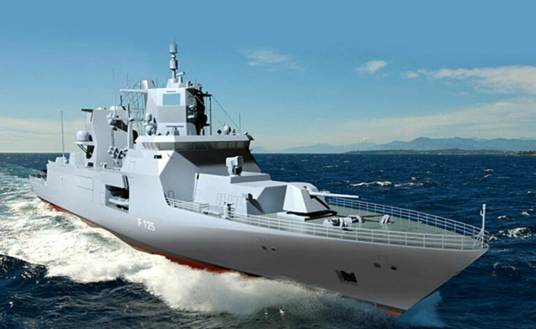 Многоцелевой фрегат ВМС Германии проект F125