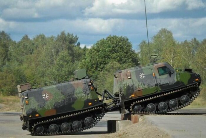 "БРМ BV206S ""Хэгглунд"""