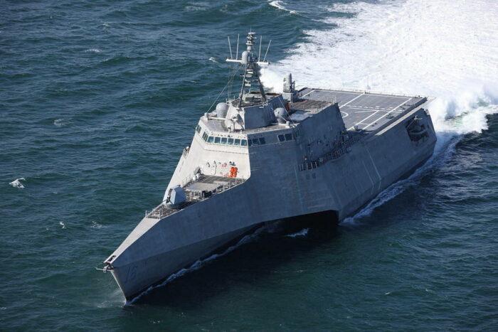 Корабль прибрежной зоны USS Tusla